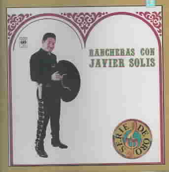 RANCHERAS CON JAVIER SOLIS BY SOLIS,JAVIER (CD)